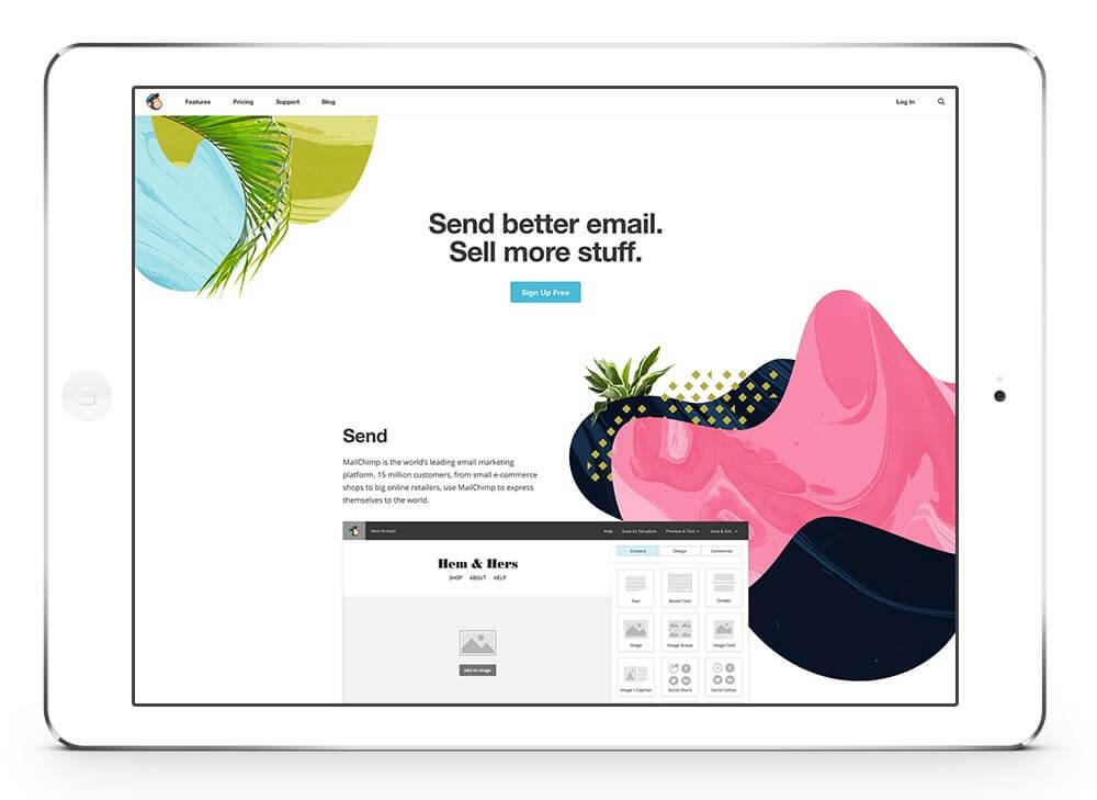 Mailchimp iPad